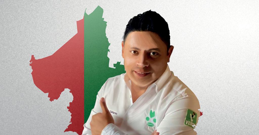 El virtual gobernador de San Luis Potosí, Ricardo Gallardo