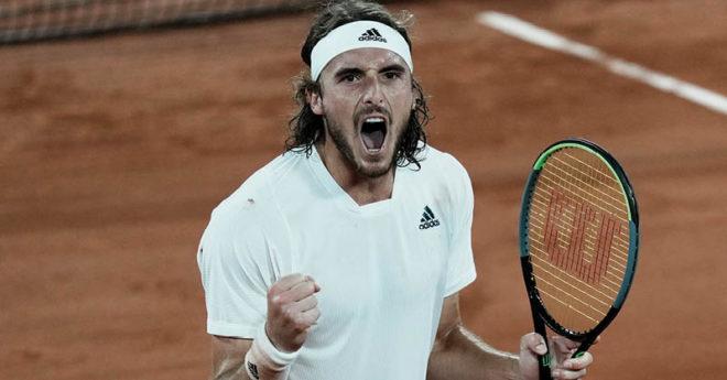 Alexander Zverev y el griego Stefanos Tsitsipas estarán en las semifinales de Roland Garros