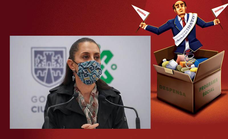 Tras el 6 de junio, en la que Morena perdió nueve de las 16 alcaldías de la CDMX, el presidente López Obrador decidió ajustar su estrategia