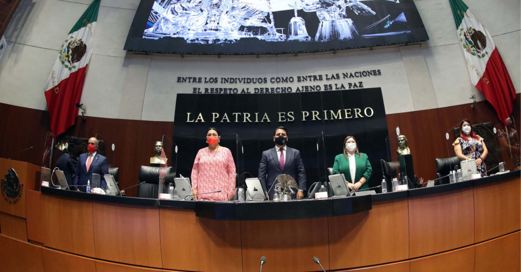 Eduardo Ramírez Aguilar, presidente del Senado de la República, llamó a trabajar en unidad
