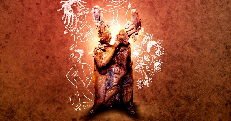 En la época prehispánica, la sexualidad y el erotismo tenían un sentido cultural y una confluencia con la naturaleza