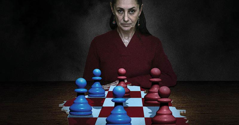 La Jefa de Gobierno, Claudia Sheinbaum, tendrá que llevar la segunda mitad de su mandato con una mayoría de alcaldes de oposición