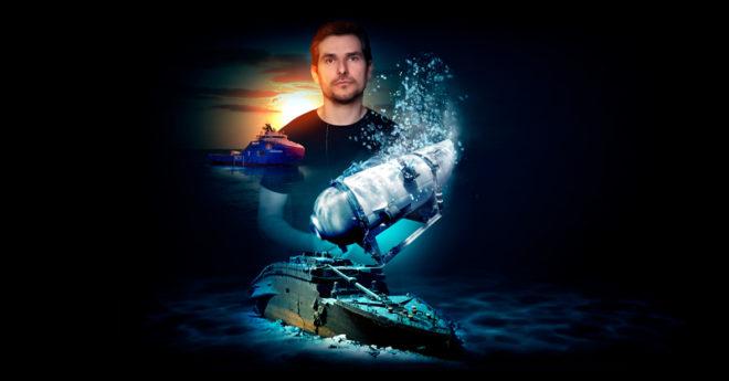 """Alan Estrada podrá cumplir uno de sus sueños al ser una de las casi 50 personas que podrán recorrerlo gracias a la """"Titanic Survey Expediction"""""""