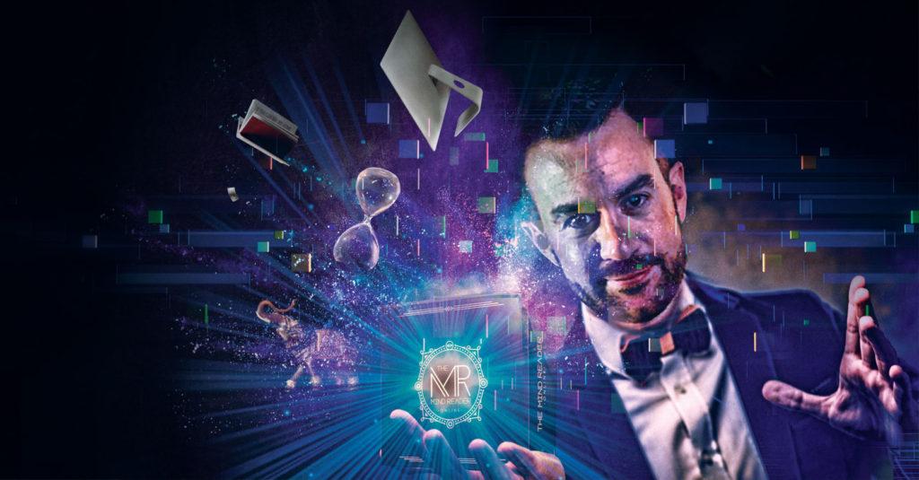 Víctor Castañeda, quien practica el ilusionismo en México, presenta The Mind Reader Online