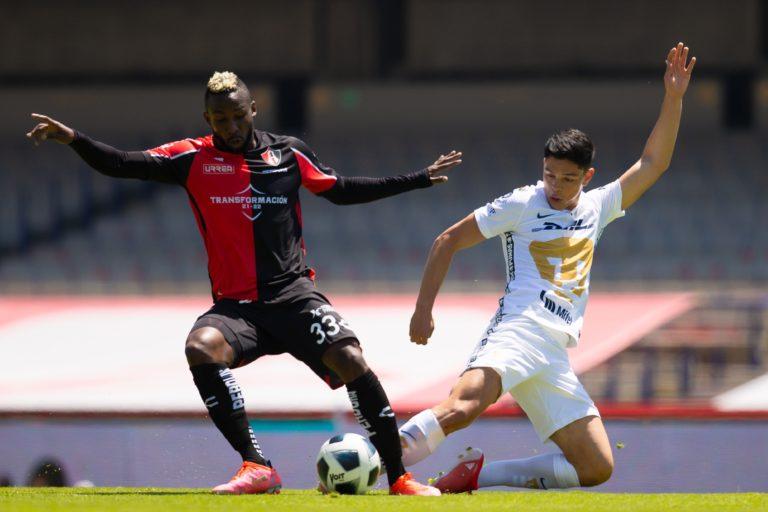 Pumas y Atlas se olvidan del gol; empate insípido en CU