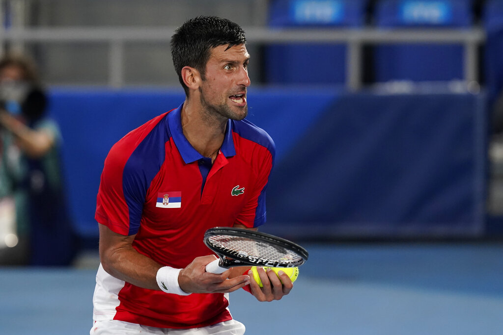 Colapsa el 'Golden Slam'; Djokovic cae en Tokio ante Zverev