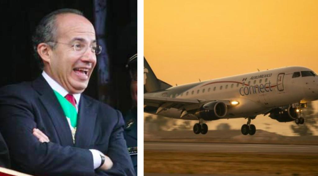 """Calderón culpa a la """"demagogia que llaman austeridad"""" de AMLO por fallas en AICM"""