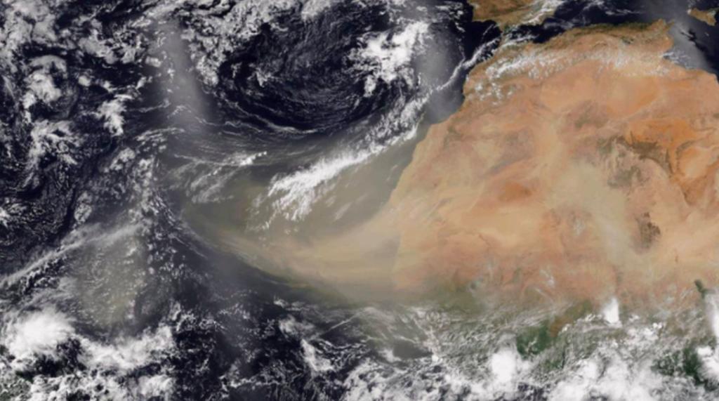 Nube de polvo del Sahara alcanzará la Península de Yucatán, advierte Conagua