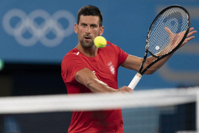 Novak Djokovic TOKIO 2020