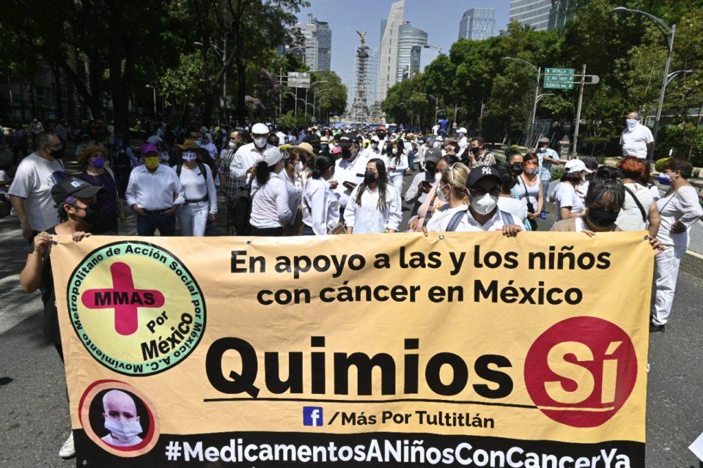 Quimio sí: así va la marcha ciudadana en exigencia de medicamentos para niños con cáncer
