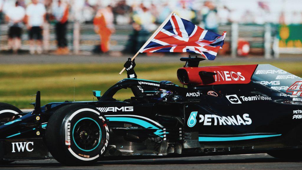 Lewis Hamilton GP BRITANICO