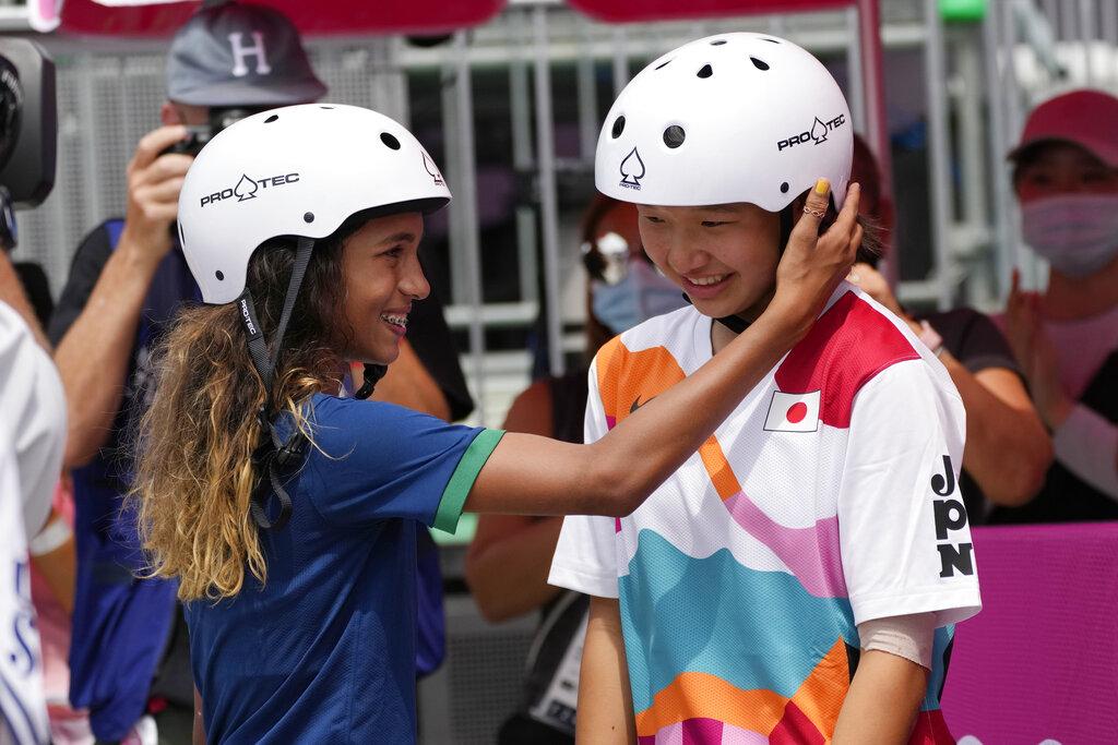 Niñas arrasan en skateboarding de Tokio 2020; Momiji Nishiya de 13 años se lleva el oro