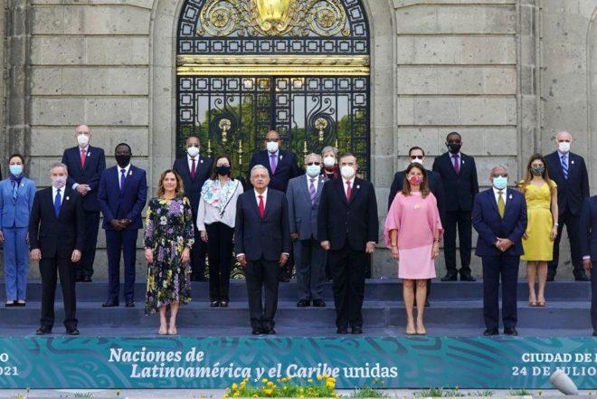 Propone AMLO ante Celac integración de Latinoamérica parecida a la Unión Europea