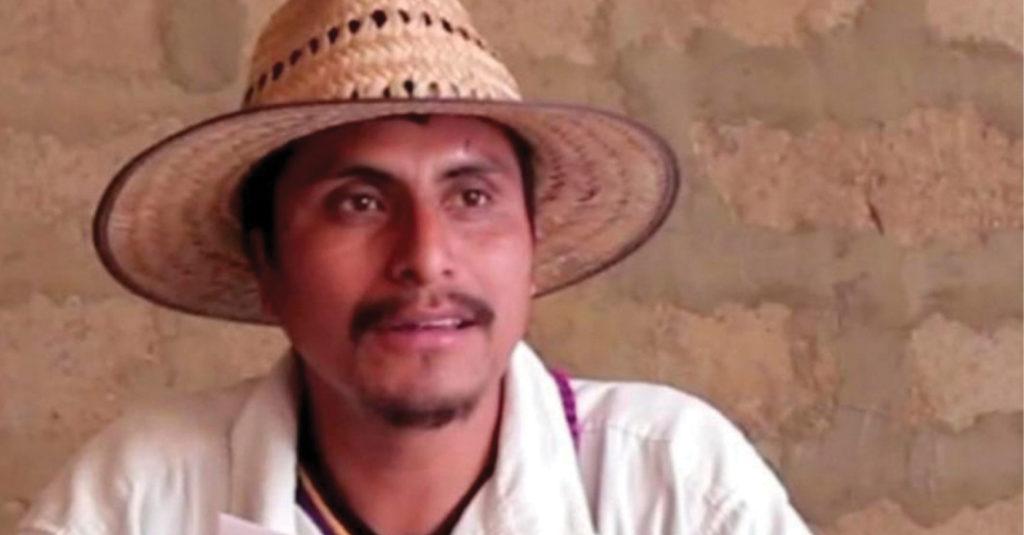 Fue asesinado de un disparo en la cabeza el defensor de derechos humanos y catequista, Simón Pedro Pérez López, en Simojovel, Chiapas