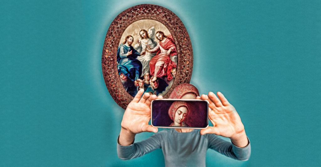 La pintura ha sido una de las fuentes primordiales para la transmisión del pensamiento religioso en la sociedad. En México, el arte novohispano