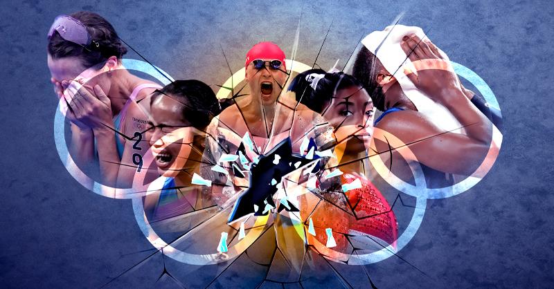 En el transcurso de las actuales Olimpiadas se ha observado que los atletas de alto rendimiento sufren quiebres psicológicos