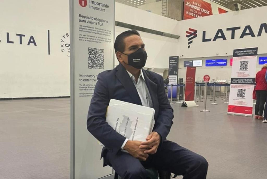 Aureoles ahora viaja a Estados Unidos para denunciar supuesta narcoelección de Morena