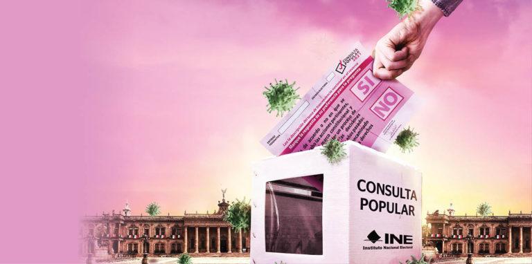 La consulta popular para enjuiciar a los expresidentes de México se realizará el próximo 1 de agosto