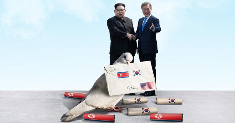 Corea del Norte y Sur vuelven a retomar su relación en espera de que el líder surcoreanoevite el tema de la desnuclearización