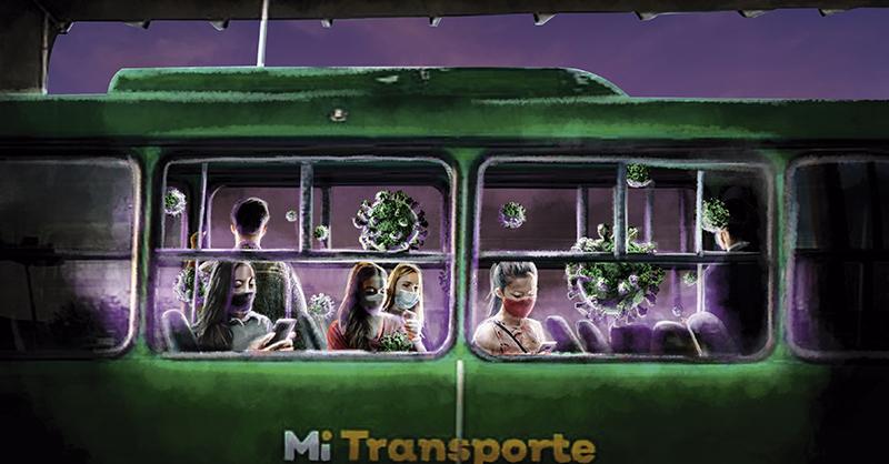 Siete de cada 10 usuarios del transporte público en Guadalajara observa deficiencias en la estrategia para prevenir el COVID-19