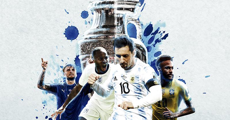 Inician los Cuartos de final en la Eurocopa y Copa América; Inglaterra quiere su primer título continental, al igual que Messi. Italia, Bélgica y Brasil