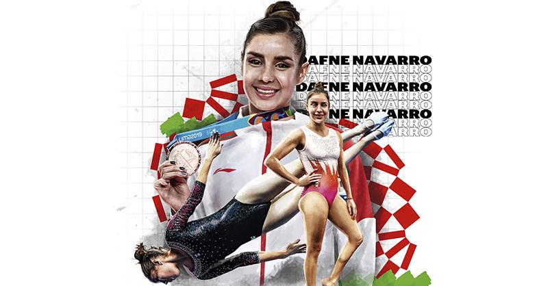 Dafne Navarro puso la 'cereza en el pastel' en la gimnasia mexicana