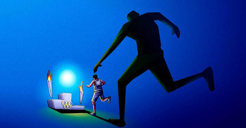 Esta justa olímpica evidenció los problemas psicológicos de algunos deportistas