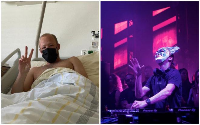 """Me siento fatal"", hospitalizan a DJ Boris Brejcha tras concierto en Naucalpan sin cubrebocas"