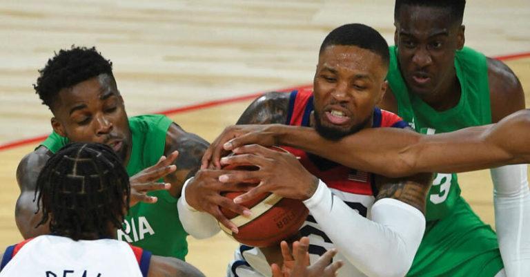 No era lo que Estados Unidos presagiaba al iniciar su preparación para los Juegos Olímpicos de Tokio. Y Nigeria mucho menos