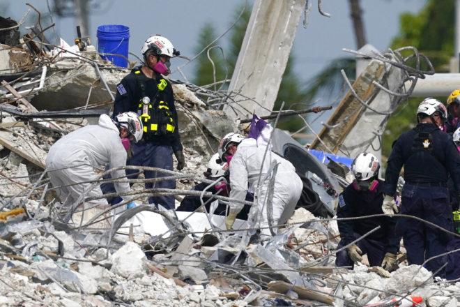 """Se apago la esperanza en edificio de Miami; no hay """"ninguna posibilidad de encontrar vida"""""""