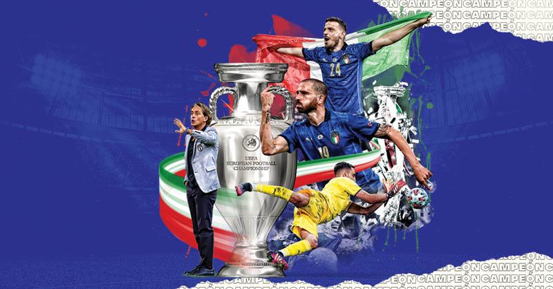 Italia se lleva la Eurocopa 2020 tras derrotar en Wembley a Inglaterra