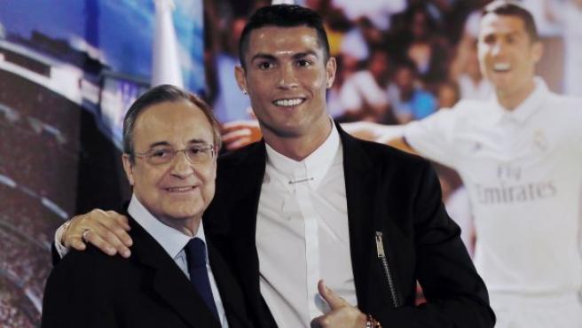 Cristiano Ronaldo es un imbécil: Florentino