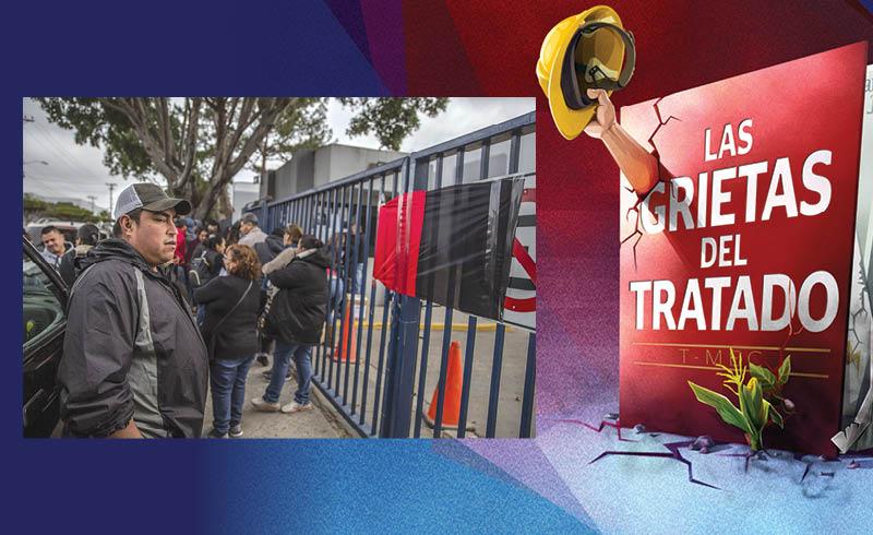 La última reforma laboral de gran calado que se estableció en México fue empujada por las disposiciones establecidas en el Tratado