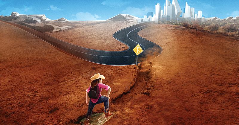 La falta de acceso a infraestructura de carreteras pavimentadas es un obstáculo para derechos como la educación, la salud y el empleo
