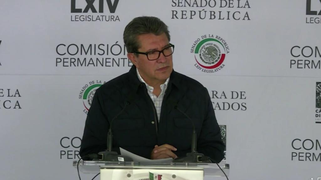 """Ricardo Monreal aclara que no es un """"ambicioso vulgar"""", pero sí buscará presidencia en 2024"""