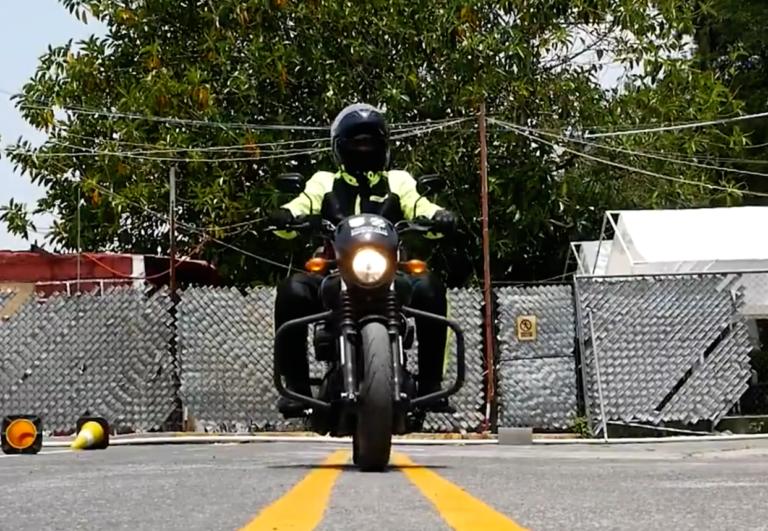 Estas son las pruebas de habilidad que deberán pasar motociclistas para nuevas licencias