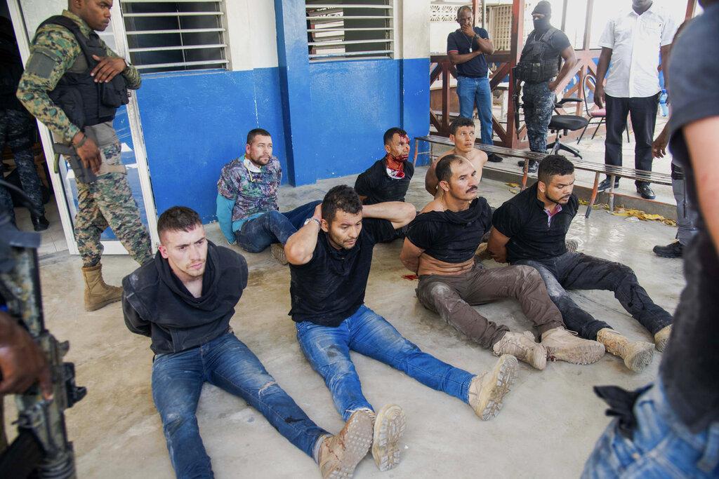 Detienen a 2 haitiano-estadounidenses por asesinato de presidente de Haití, Jovenel Moïse