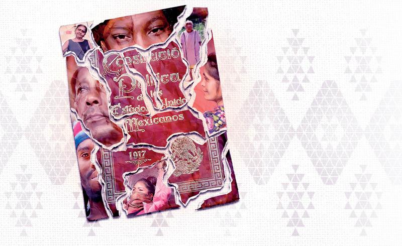 """""""Propuesta de Iniciativa de Reforma Constitucional sobre los Derechos de los Pueblos Indígenas y Afromexicano"""","""