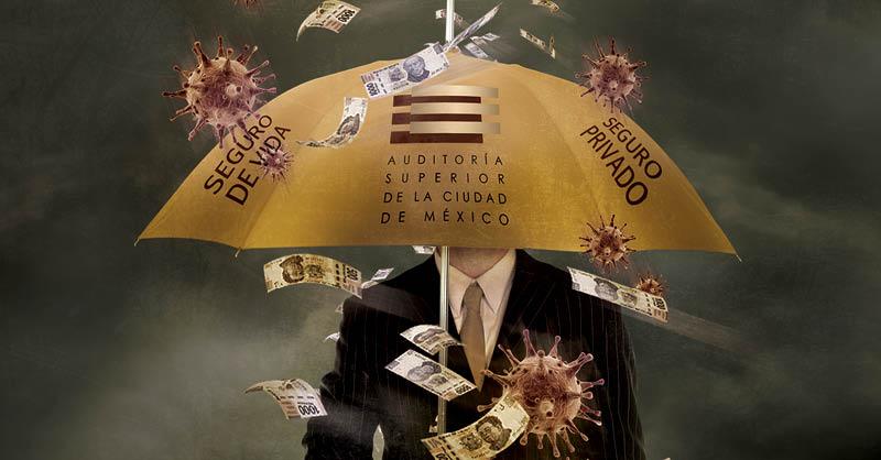 La Auditoría Superior de la Ciudad de México (ASCM) fue en contra de la austeridad y se dio un lujo: contrató un seguro de vida privado