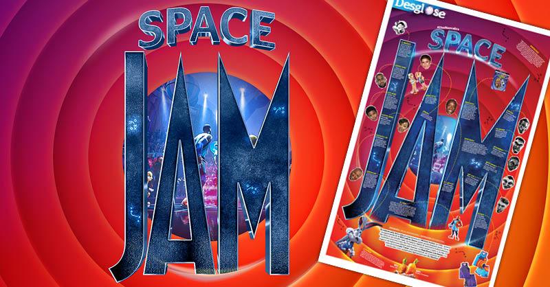 En esta secuela de Space Jam aparece la superestrella de la NBA LeBron James, quien queda atrapado junto con su hijo Dom en un extraño lugar