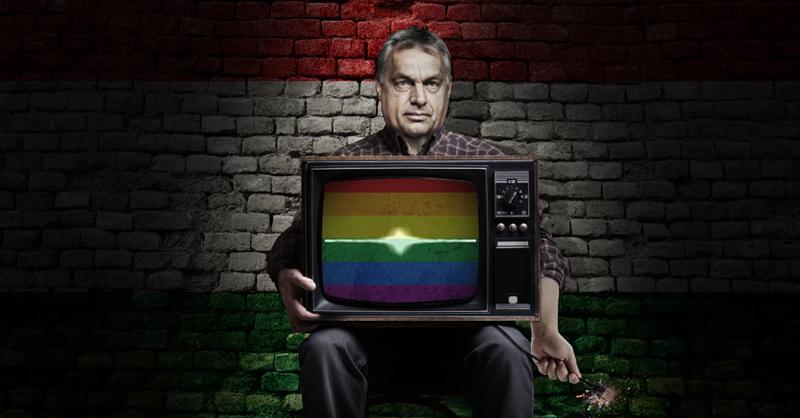 Víktor Orbán ha recibido múltiples críticas en su contra Tras aprobar una ley que prohíbe exponer contenidos homosexuales en colegios y TV