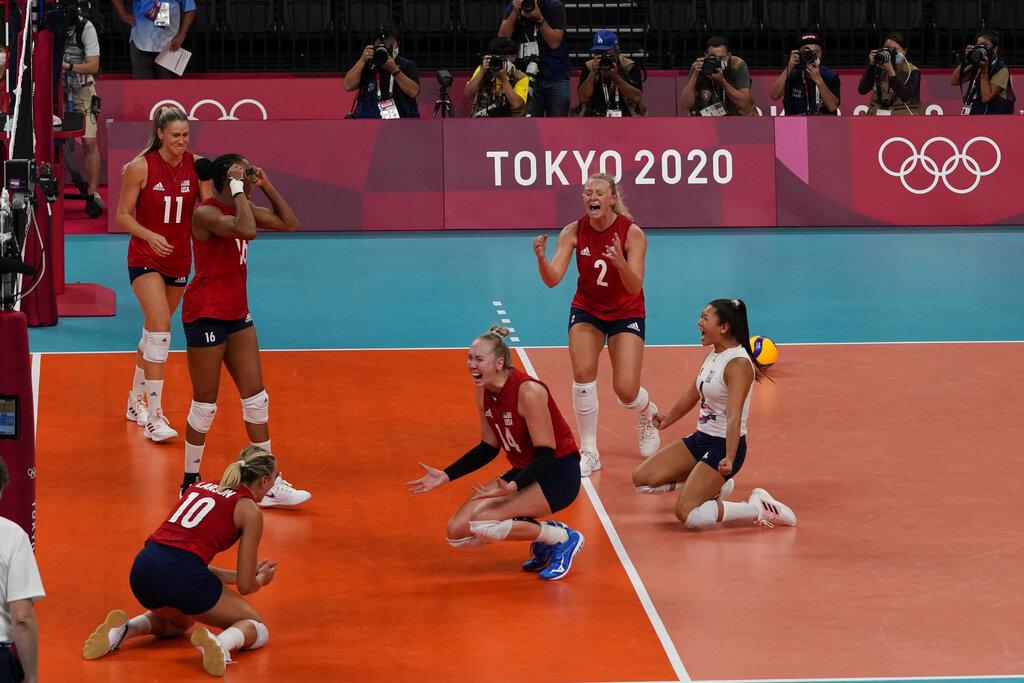 Estados Unidos, tricampeón de los Juegos Olímpicos