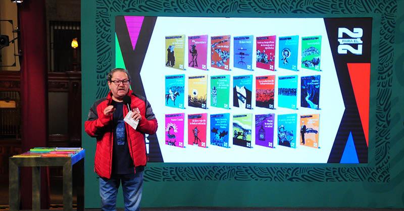 El Fondo de Cultura Económica (FCE) anunció una colección de libros que incluye a 21 autores mexicanos y se repartirá de manera masiva y gratuita