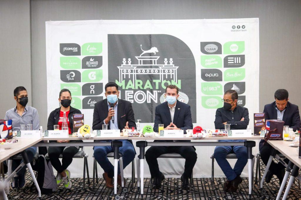 Maratón León Guiar 2021 será presencial
