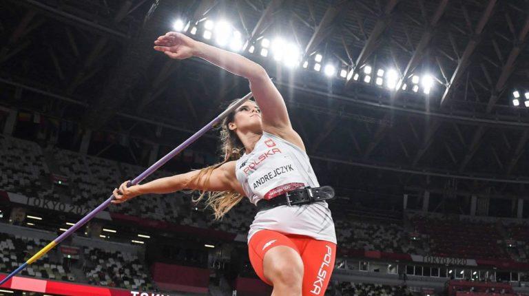 Maria Andrejczyk, medalla plata en Tokio 2020