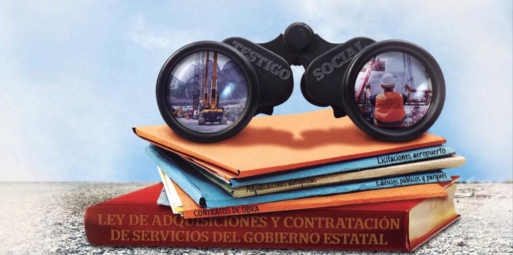 En el Congreso local de Nuevo León hay una iniciativa para que la figura del testigo social participe en el proceso de adjudicación de obras públicas