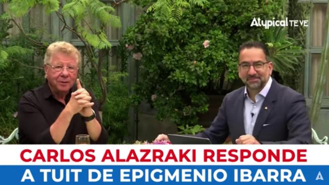 """""""No me metas en tus pinches broncas"""", Carlos Alazraki revienta contra Epigmenio Ibarra (VIDEO)"""