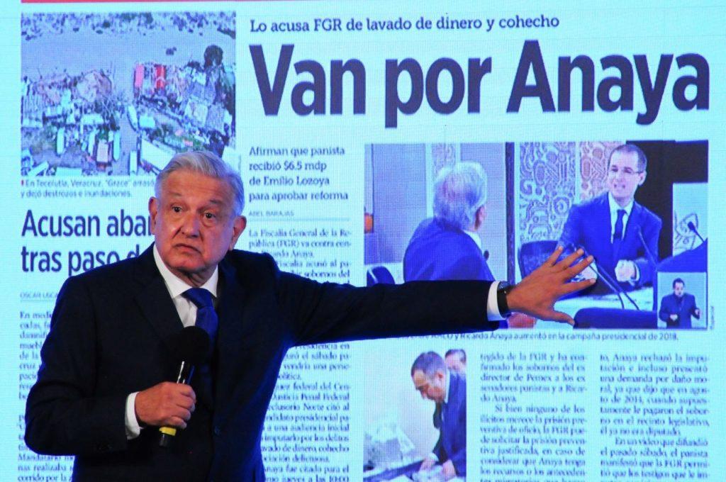 AMLO: Anaya es alumno de Fernández de Cevallos y las políticas privatizadoras de Salinas de Gortari