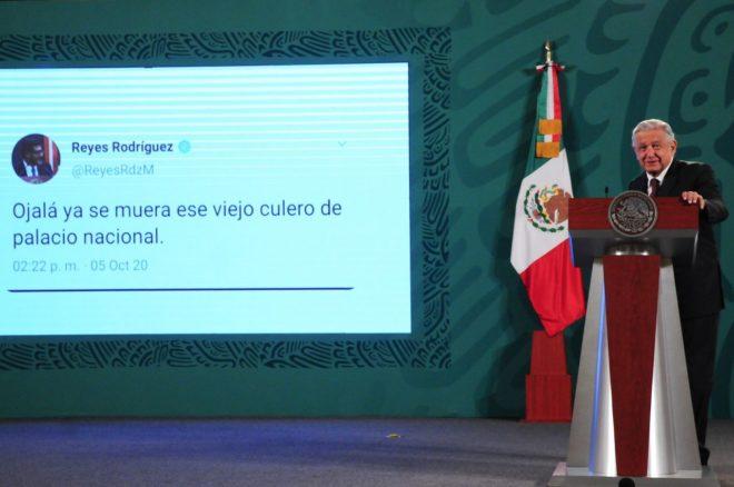 """Es falso el tuit donde supuestamente Rodríguez Mondragón llamó """"viejo culero"""" a AMLO"""
