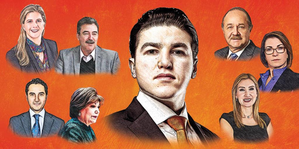 El gobernador electo de Nuevo León, Samuel García, presentó a la Comisión de Transición para el proceso de entrega-recepción